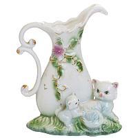 Кувшин с котенком(фарфор)