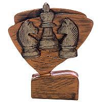 "Награда ""Шахматы"", h-11,5см, литая, полистоун"