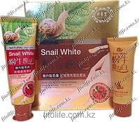 Набор для депиляции Snail White,аромат розы