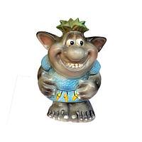 """Садовая фигура """"Тролль мальчик"""",h- 41см, керамика"""