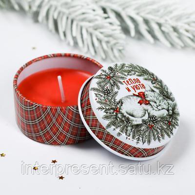 Свеча в железной банке обрезь ткани купить в челябинске