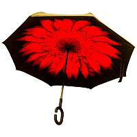 Зонт женский наоборот п/авт, пластик/металл h-80см