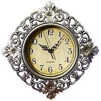"""Часы настенные """"Жанна"""" ,пластик, 30х30 см 2307006"""