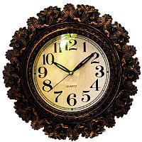 Часы настенные серия Жанна, 40х40 см , пластик