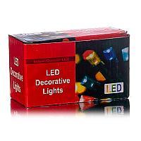 Электрогирлянда, 100ламп, L-9м, черный провод, цвет микс, пластик (артикул поменять и заменить описание)