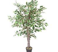 """Дерево искусственное """"Фикус"""", h-160см, пластик"""