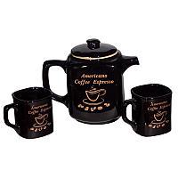 Кофейный набор, 3 предмета, керамика