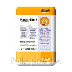 MasterTile  5 - клей, обладающий высокими фиксирующими свойствами (USTA 150) серый 25 кг.