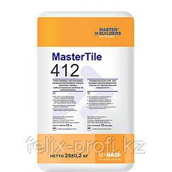 MasterTile 412 клей для крупногабаритной плитки, серый 25 кг.