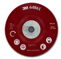 3M Оправка Для Фибровых Кругов, 125 мм х 22 мм, ребристая, M14
