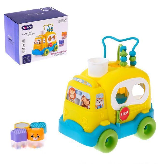 Детская логическая  машина «Школьный автобус»