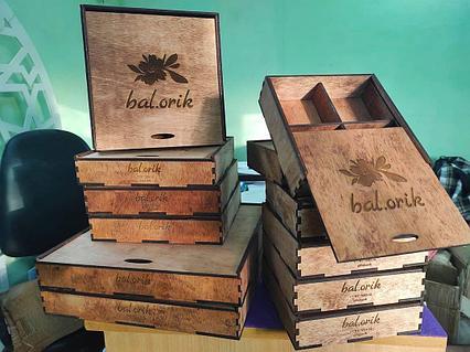 Деревянные шкатулки и коробочки на заказ