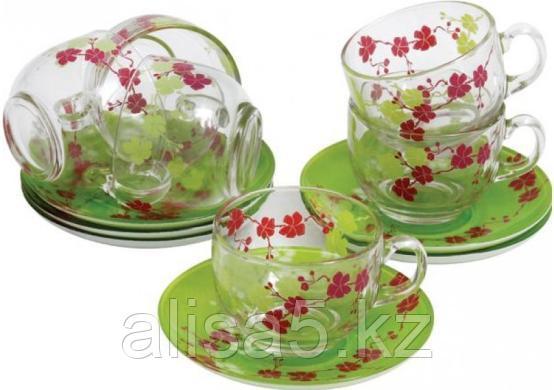 KASHIMA GREEN чайный сервиз на 6 персон из 12 предметов (220 мл), шт