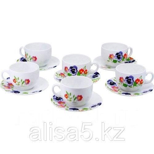 MAGDA чайный сервиз на 6 персон из 12 предметов (22 cl), шт