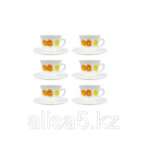 MARGUERITE чайный сервиз на 6 персон из 12 предметов (22 cl), шт