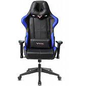 Кресло игровое Zombie VIKING-5-AERO черный/синий