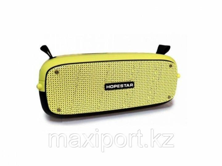 Портативная колонка Hopestar A20 Boombox желтая(мощность 55watt)