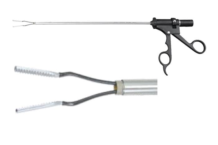 Биполярные щипцы захватывающие Ø5mm×330mm (для лапароскопии)