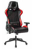 Кресло игровое Zombie VIKING-5-AERO черный/красный