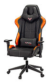 Кресло игровое Zombie VIKING-5-AERO черный/оранжевый