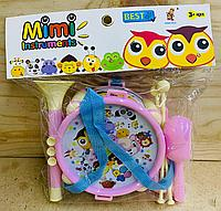 890-21 Музыкальные инструменты маленькие Mini instruments в пакете 25*24