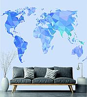 Карта мира векторная