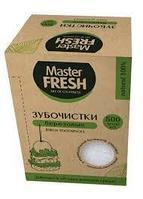 Master FRESH ЭКО Зубочистки ЭКО в бум.инд. упаковке и в картон коробке, 500шт