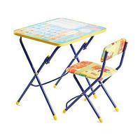 НИКА Набор мебели ПЕРВОКЛАШКА- ОСЕНЬ (стол + мяг стул) h580