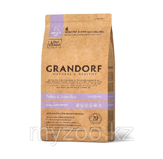 Grandorf Индейка&Рис Adult Mini 3 кг