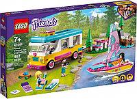 LEGO Friends Подружки лесной дом на колесах и парусная лодка