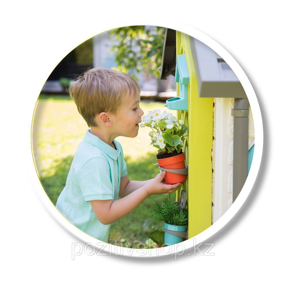 Детский игровой домик Smoby Садовый - фото 4