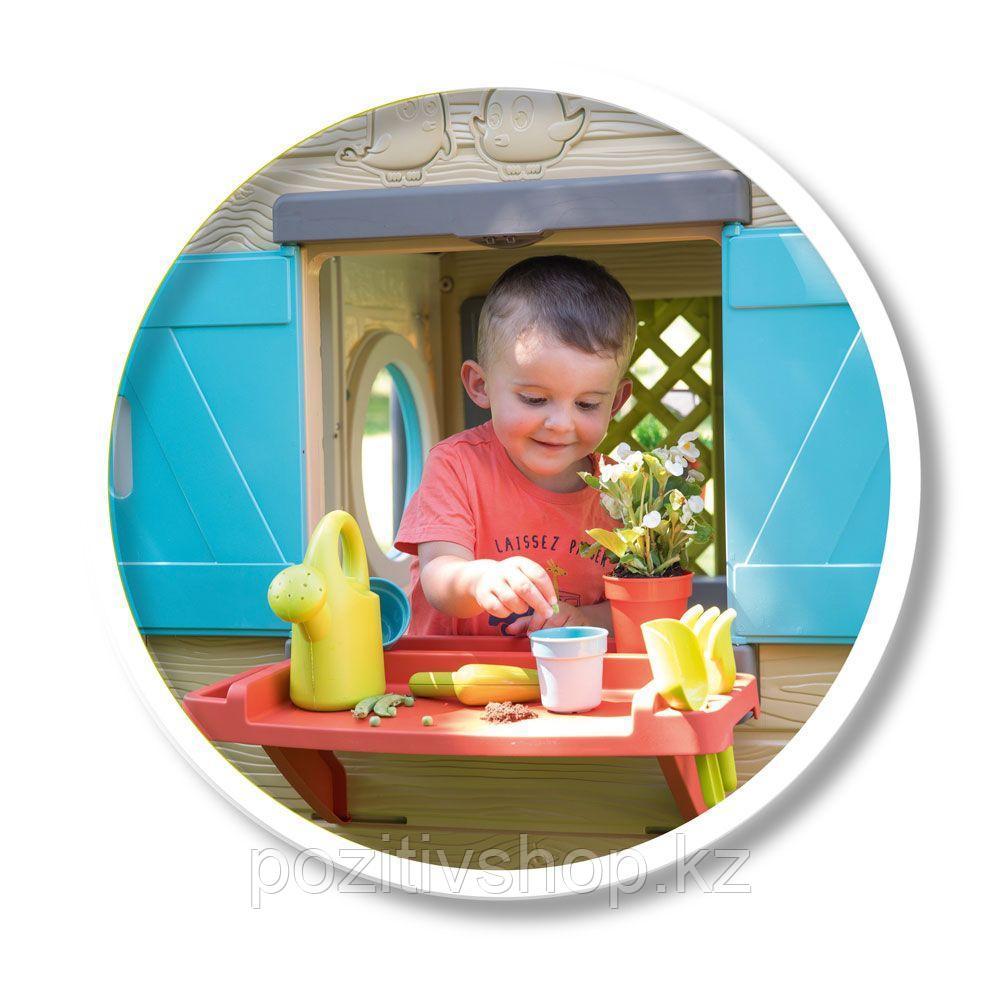 Детский игровой домик Smoby Садовый - фото 5