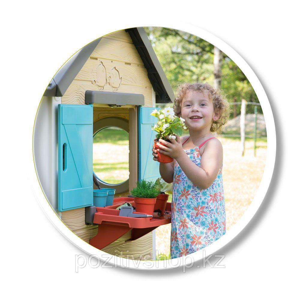 Детский игровой домик Smoby Садовый - фото 6