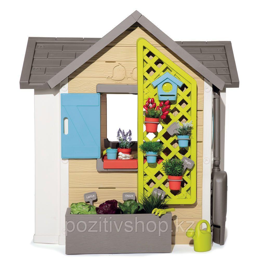 Детский игровой домик Smoby Садовый - фото 3