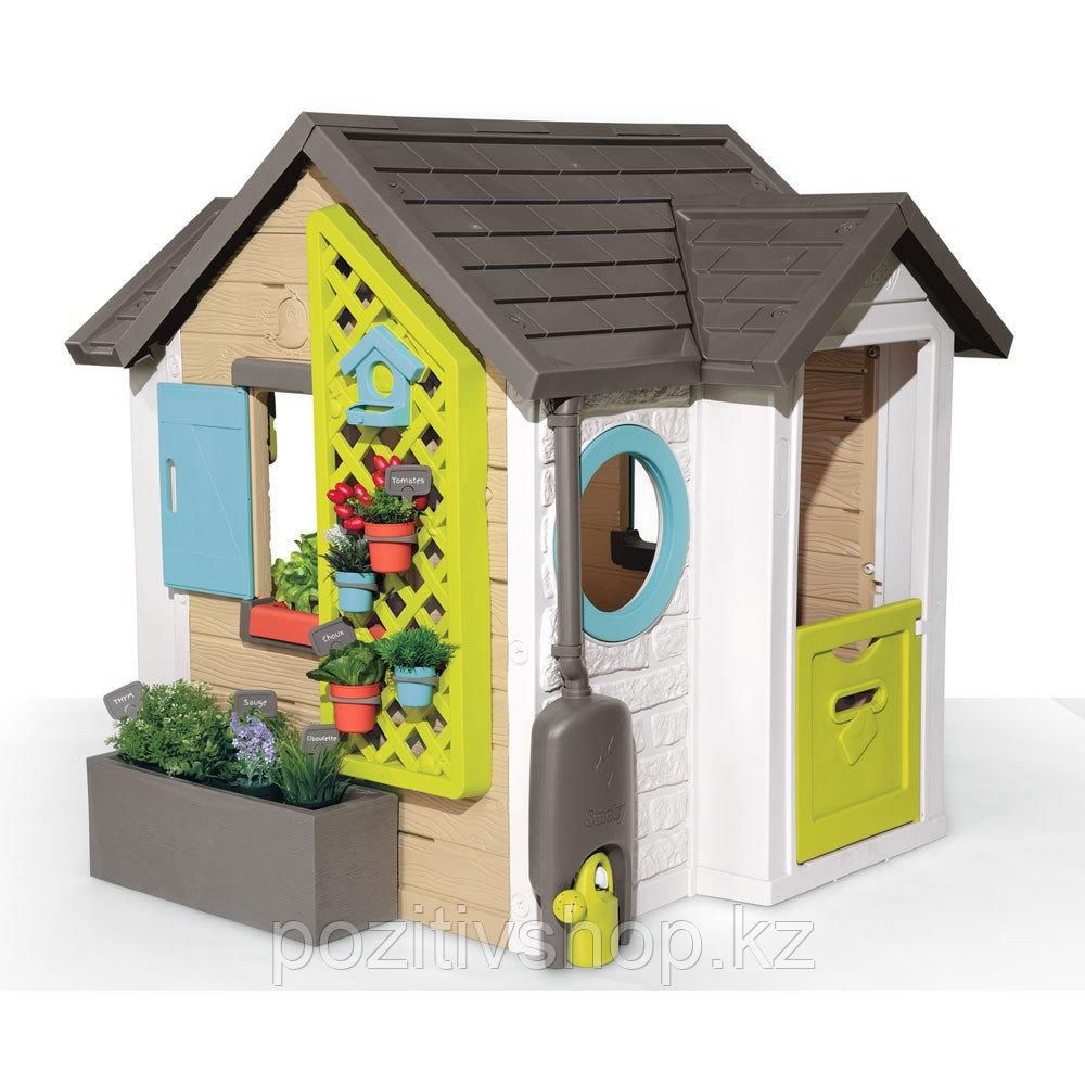 Детский игровой домик Smoby Садовый - фото 1