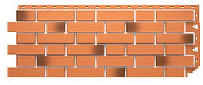 Фасадные панели FLEMISH Дёке Красный жженый 1095x420 мм (0,46 м2)