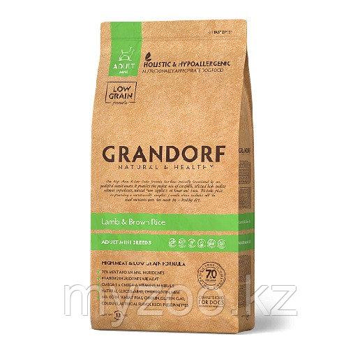 Grandorf Ягненок&Рис Adult Mini 3 кг