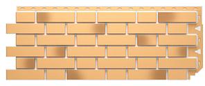 Фасадные панели FLEMISH Дёке Жёлтый жженый 1095x420 мм (0,46 м2)