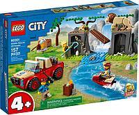 60301 Lego City Спасательный внедорожник для зверей, Лего Город Сити