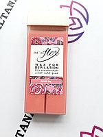Воск для депиляции картриджный кремовая роза 100 г Italwax