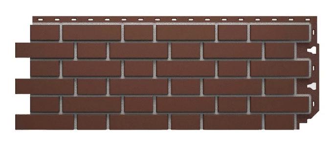 Фасадные панели FLEMISH Дёке Коричневый 1095x420 мм (0,46 м2)