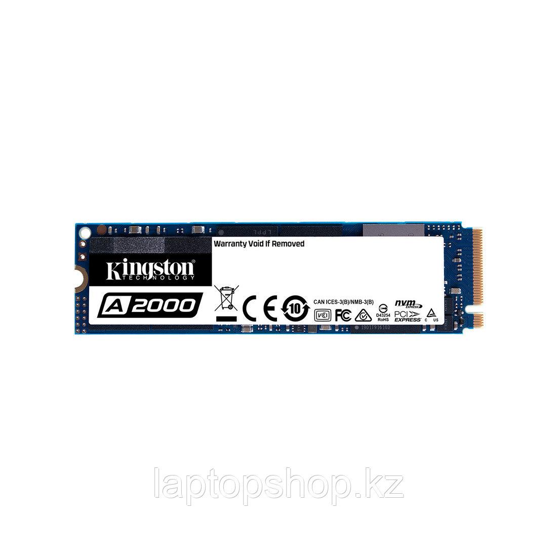 Kingston SSD 500 GB, SA2000M8/500G, M.2 NVMe PCIe 3.0x4