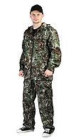 "Костюм ""ТУРИСТ 2"" куртка/брюки цвет: кмф ""Сетка зеленый"", ткань: Твил Пич"