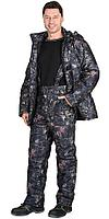 "Костюм ""Тайга"" зимний: куртка, брюки. (тк.Алова) КМФ Темный лес (меркурий)"