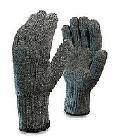 Перчатки шерстяные двойные (70% шерсть+30% акрил), двойной оверлок (105пар/упак.)