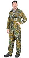 Костюм флисовый куртка, брюки КМФ Темный лес
