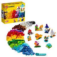 LEGO Classic 11013 Конструктор ЛЕГО Классик Прозрачные кубики