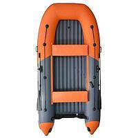 Лодка надувн. Boatsman ВТ360A НДНД моторная (графитово-оранжевый)