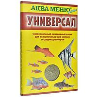 Корм для рыб АКВА Меню Универсал ( упаковка 55 штук )