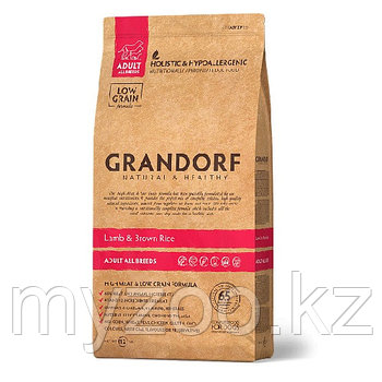 Grandorf Ягненок&рис Adult All Breads, 12 кг